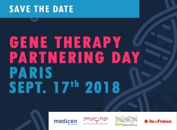 20180906 Gene therapy partnering day paris