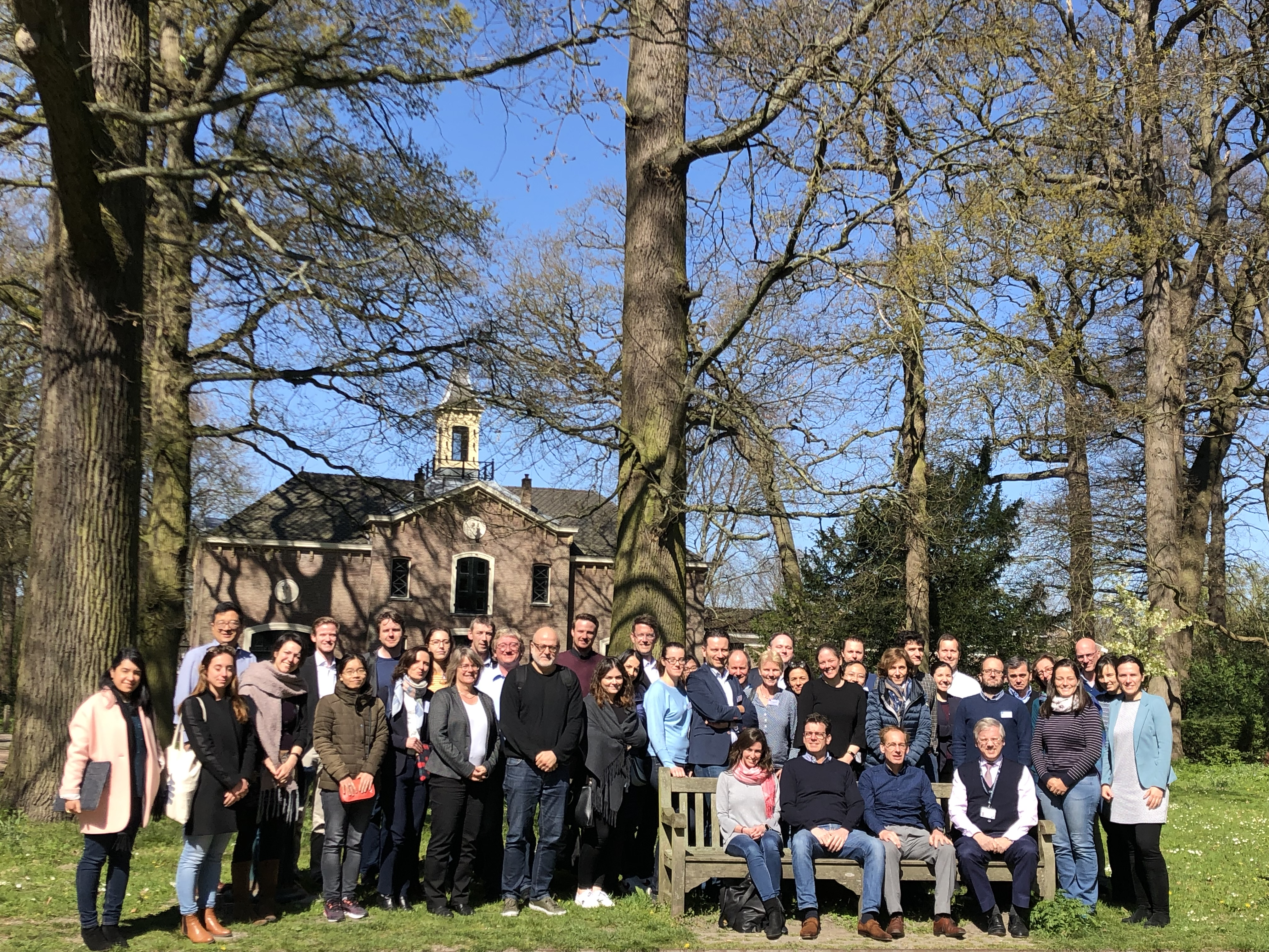 Recomb Group photo ourdoor 2019